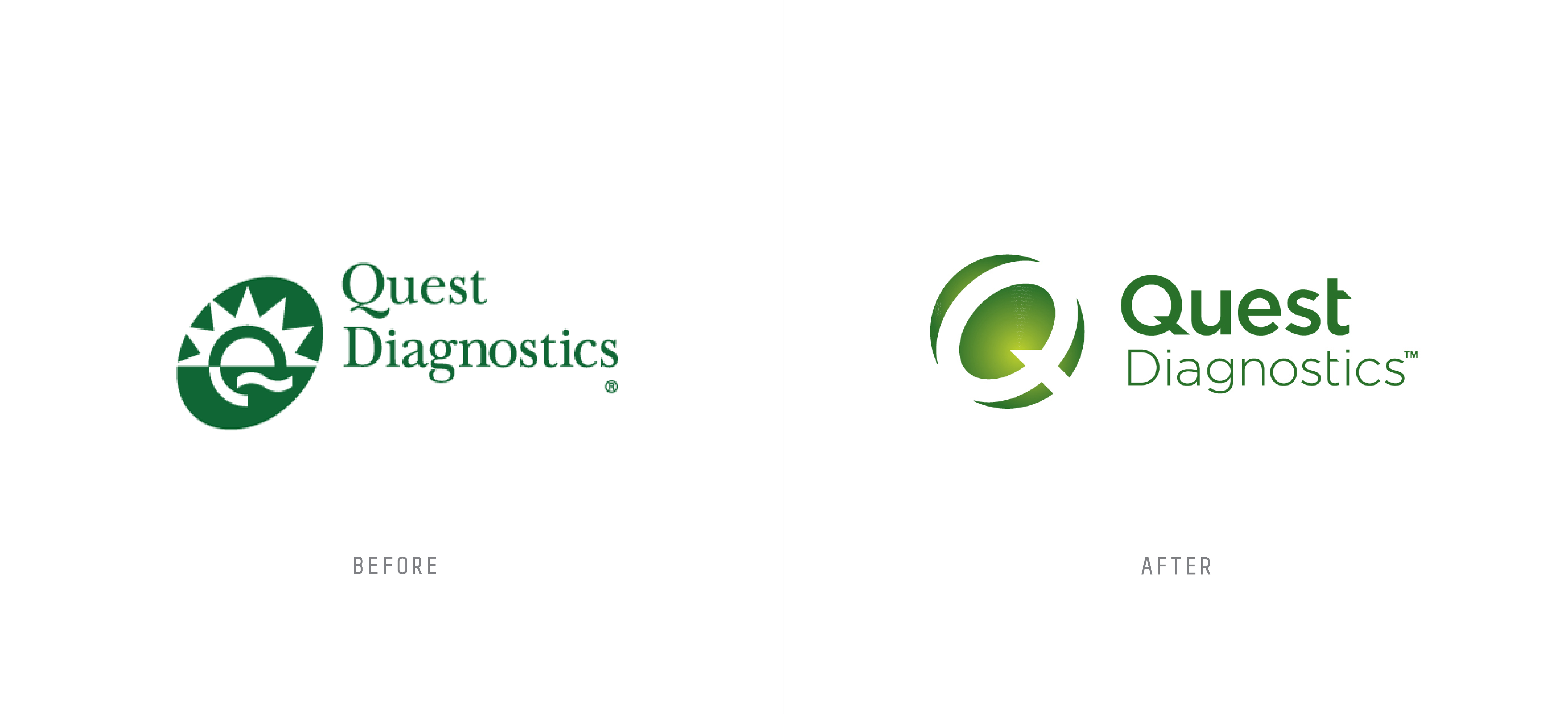 healthcare rebranding examples quest diagnostics