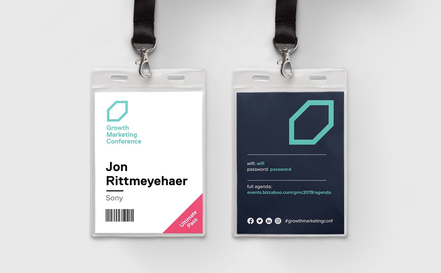 growth marketing conference badges | ignyte branding