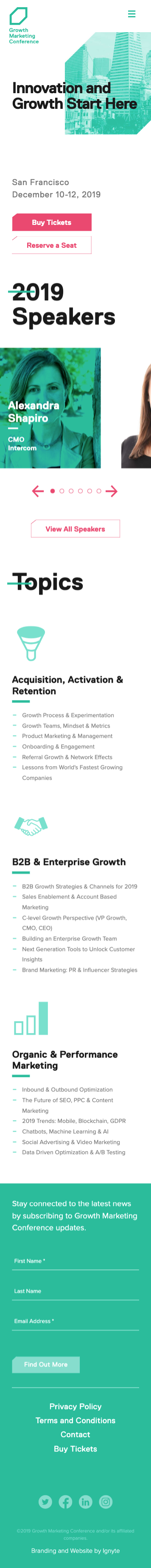 Ignyte-branding-agency-web-design-growth-marketing-conference-mobile-home-page