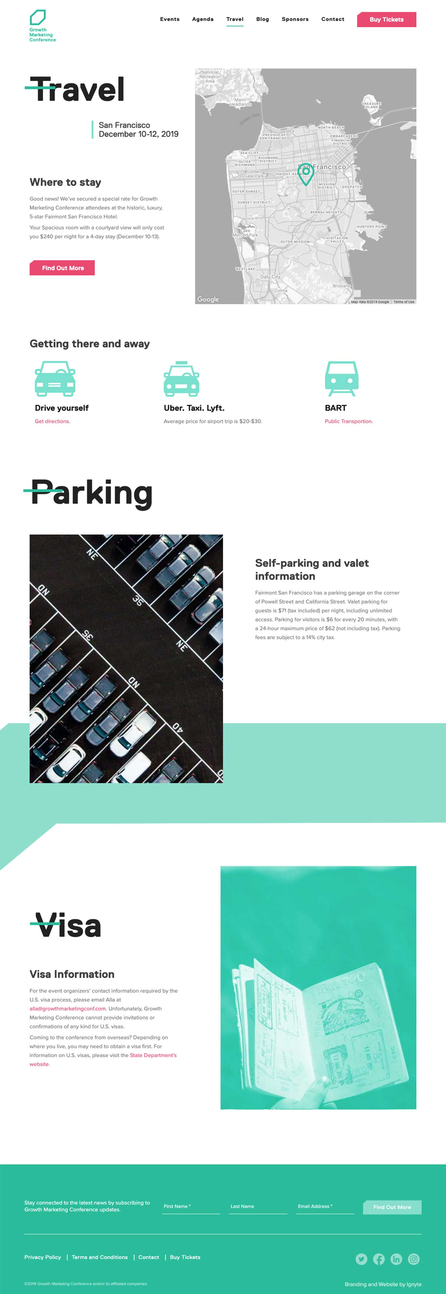 Ignyte-branding-agency-web-design-growth-marketing-conference-travel-page-V3