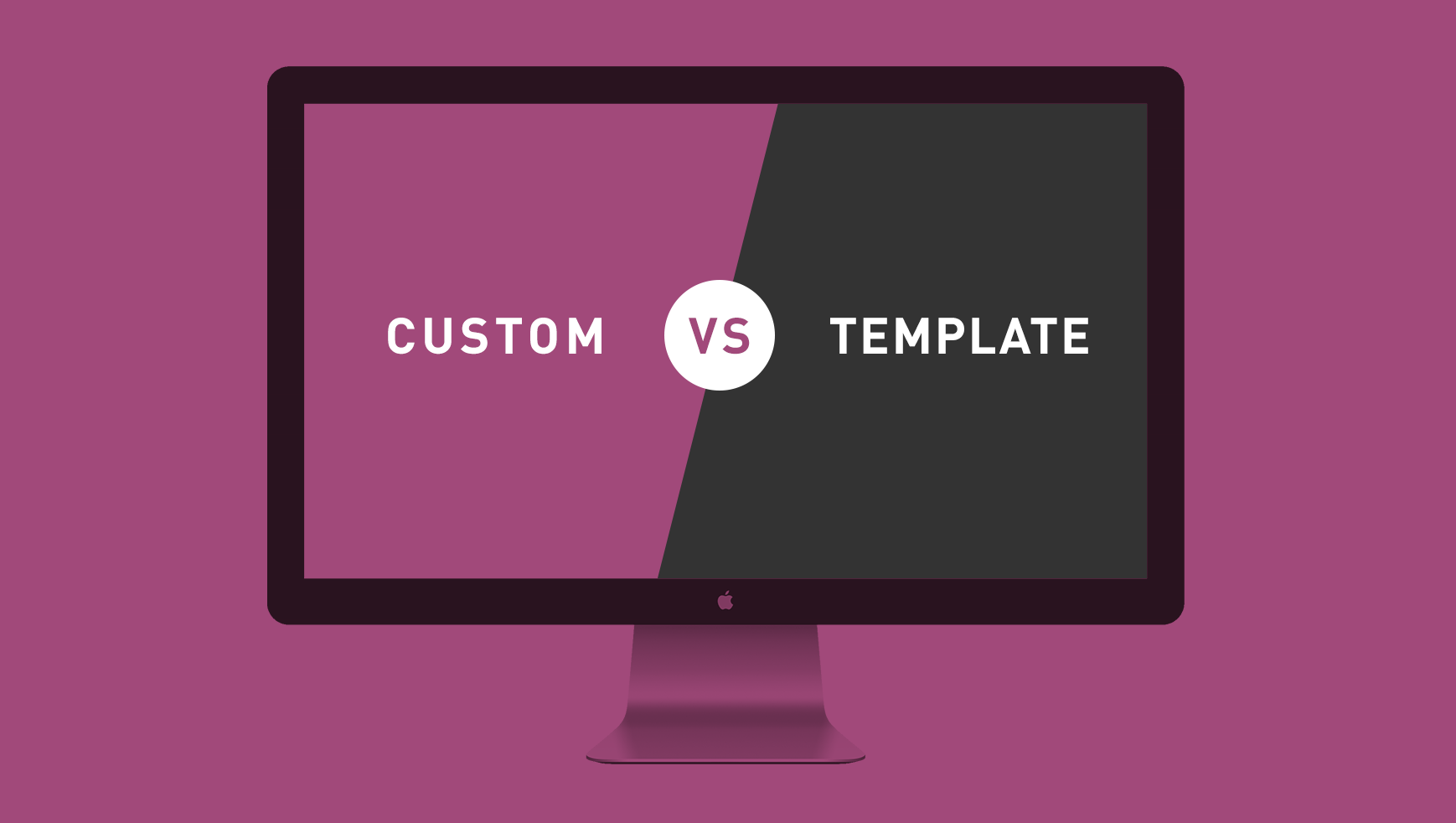 custom website vs template website which is right for your company