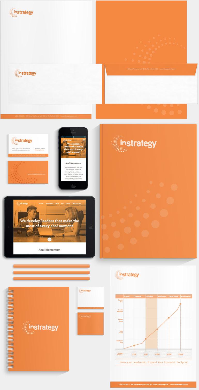 ignyte branding agency instrategy brand identity stationery design