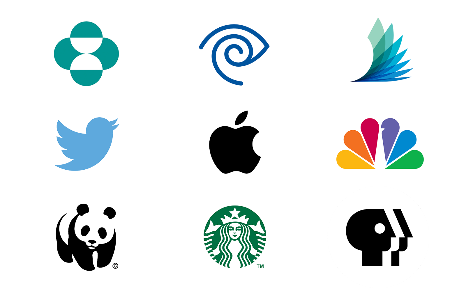 5 logo types pictorial marks