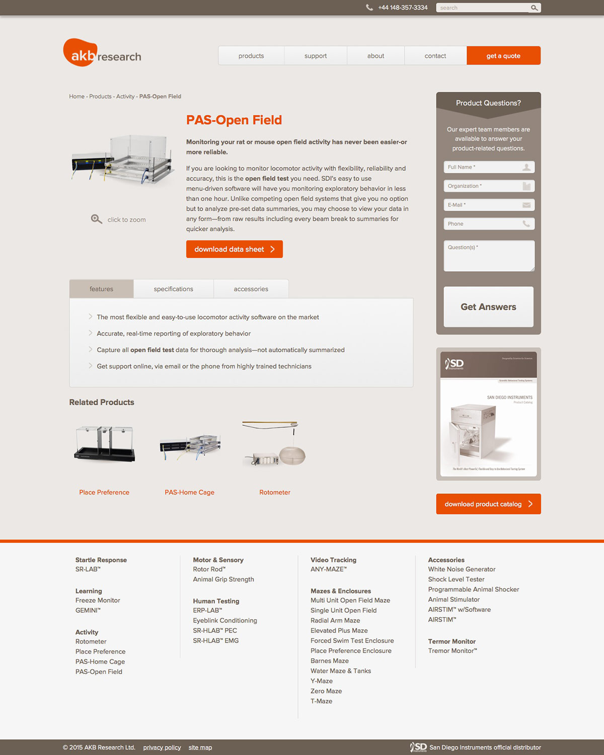 ignyte web design agency product landing