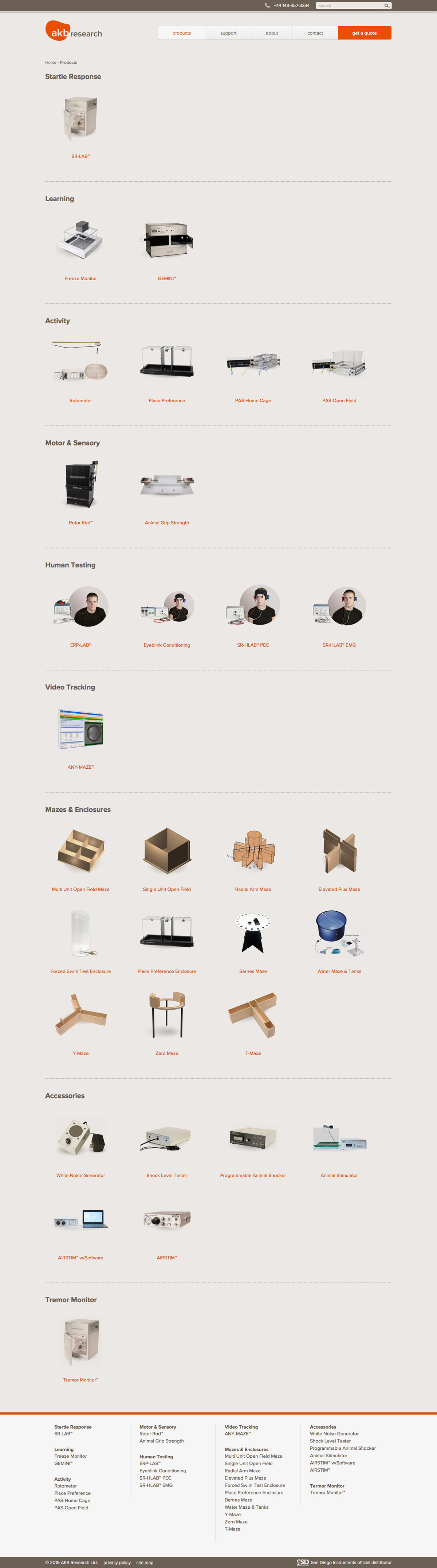 ignyte web design agency products